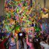 бумажный конкурс на детском празднике