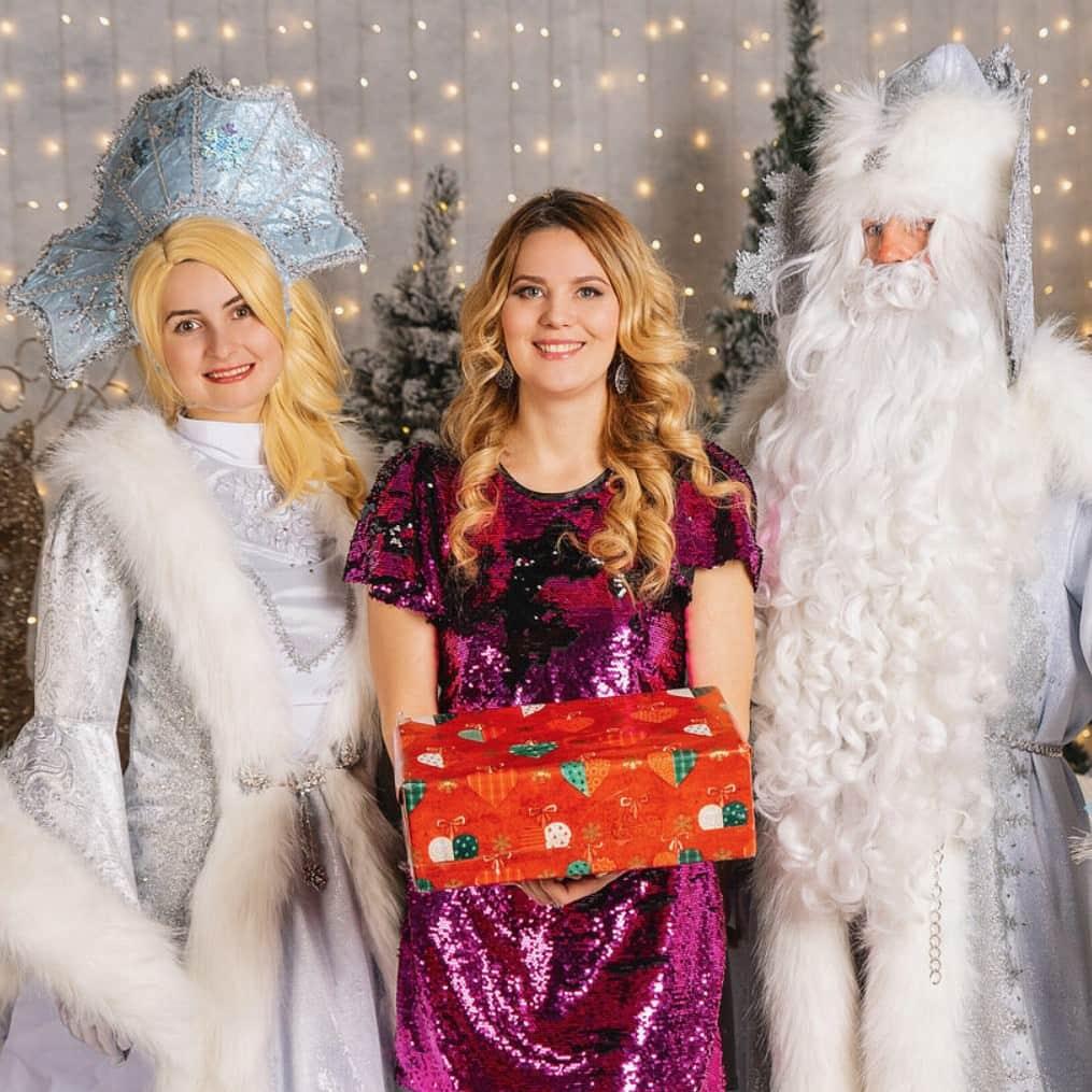дед мороз и снегурка на детский праздник вид 4